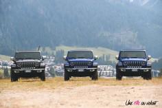 Jeep Wrangler 2019 statique face avant calandre