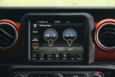 Jeep Wrangler Unlimited Rubicon 2019 écran tactile off-road Uconnect