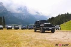 Jeep Wrangler Unlimited Rubicon 2019 statique face avant noir