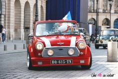 Traversée de Paris 2019 Mini Mini's addict vendôme