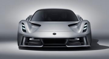 Lotus Evija 2019 face avant calandre feux
