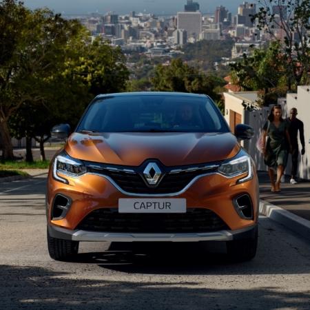 Renault Captur 2019 avant calandre feux