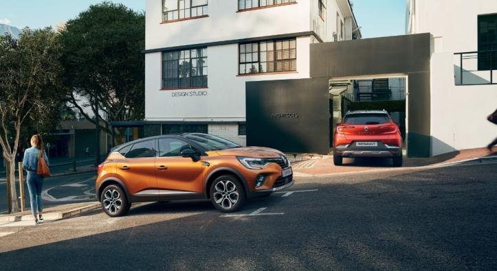 Renault Captur 2019 avant arrière orange rouge SUV