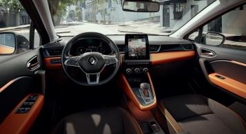 Renault Captur 2019 intérieur volant écran combiné sièges