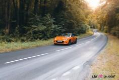 Mazda MX-5 30th Anniversary 2019 dynamique suspensions bilstein orange