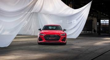 Audi RS7 Sportback 2019 face avant calandre feux