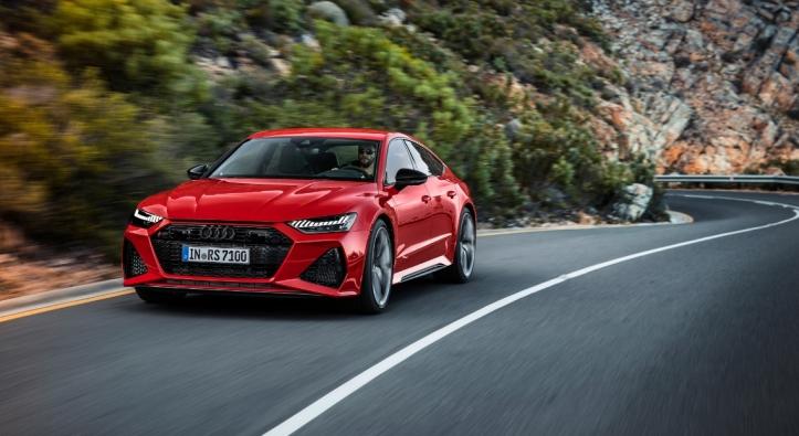 Audi RS7 Sportback 2019 sportive 600 ch V8 dynamique