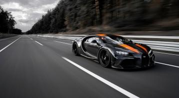 Bugatti Chiron 490 km/h 2019 record vitesse circuit Andy Wallace super sport prototype