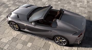 Ferrari 812 GTS 2019 arrière décapotable toit