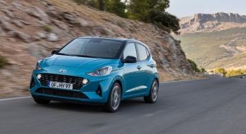 Hyundai i10 2019 face avant feux dynamique