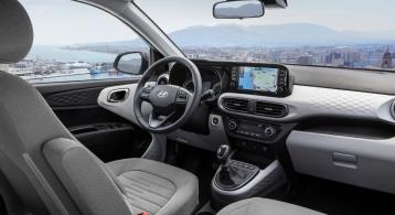 Hyundai i10 2019 intérieur écran volant sièges