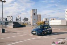 Essai Ford Fiesta ST 2019 statique jantes citadine bleu performance