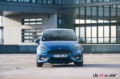 Essai Ford Fiesta ST 2019 face avant calandre logo statique