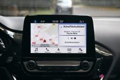 Essai Ford Fiesta ST 2019 écran tactile SYNC3 navigation musique