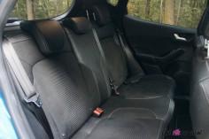 Essai Ford Fiesta ST 2019 intérieur banquette arrière