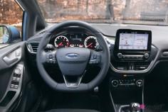 Essai Ford Fiesta ST 2019 intérieur volant écran combiné