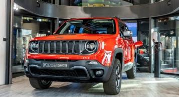 Jeep Renegade PHEV 2019 calandre feux SUV