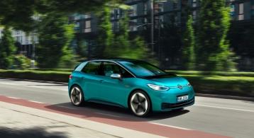 Volkswagen ID.3 2019 dynamique voiture électrique