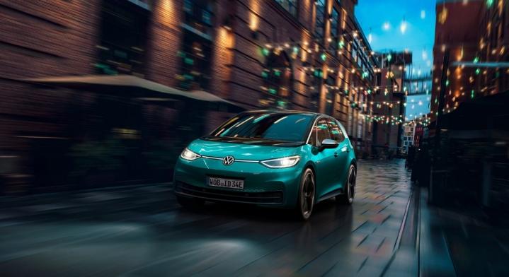 Volkswagen ID.3 2019 compacte électrique feux