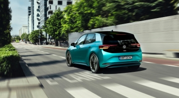 Volkswagen ID.3 2019 arrière feux dynamique