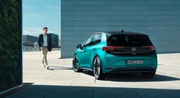 Volkswagen ID.3 2019 statique arrière compacte feux