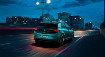 Volkswagen ID.3 2019 dynamique feux arrière compacte