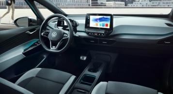 Volkswagen ID.3 2019 intérieur volant écran présentation
