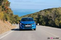 Essai Peugeot 208 2019 face avant feux