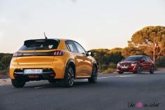 Essai Peugeot 208 2019 GT Line avant arrière jaune faro rouge elixir