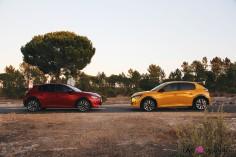 Essai Peugeot 208 2019 jaune faro rouge elixir profil citadine