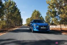 Essai Peugeot 208 2019 essence 1.2 PureTech 75 allure bleu vertigo