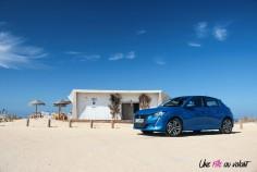 Essai Peugeot 208 2019 citadine profil jantes allure
