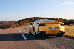 Road-Trip Ferrari Paris-Mulhouse 812 Superfast coupé V12
