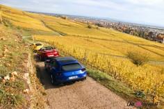 Road-Trip Ferrari Paris-Mulhouse GTC4 Lusso T Portofino 812 superfast arrière