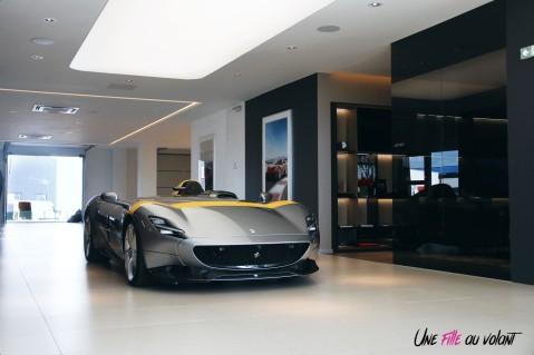 Road-Trip Ferrari Paris-Mulhouse Monza SP1 supercar luxe SF Grand Est