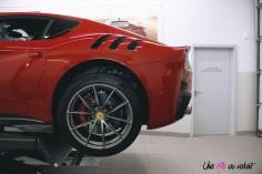 Road-Trip Ferrari Paris-Mulhouse atelier SF Grand Est détail