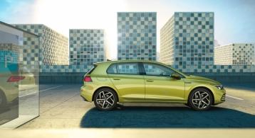 Volkswagen Golf 2019 profil statique cinq portes