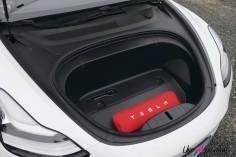 Essai Tesla Model 3 Performance 2019 coffre avant