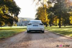 Essai Tesla Model 3 Performance 2019 arrière statique feux